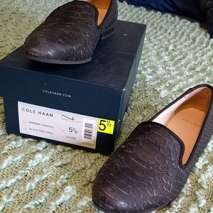 Cole Haan Shoes - Cole Haan Black 🐍 Sabrina Loafer